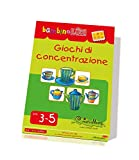 LKB-S12 CreativaMente, Libro Gioco, BLUK Giochi di Concentrazione, Gioca con la Logica, dai 3 ai 5 anni