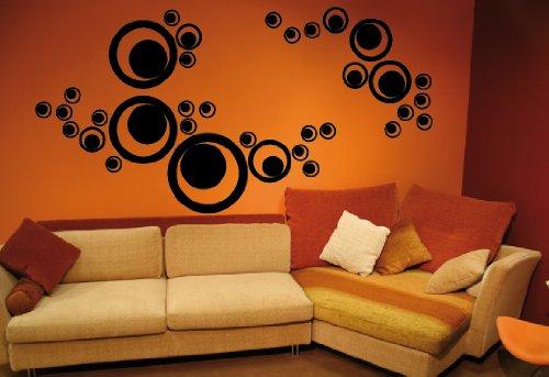 dd-dotzler-design-sticker-mural-cercles-rtro-drops-waterdrops-34pices-couleur-au-choix-v3-argent