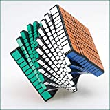 JJWBA 11-Orden Rubik Cubo 11o Orden Superior Orden 11X11X11cm Cubo Avanzado de Rubik