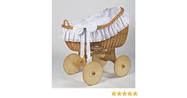 Waldin baby stubenwagen set mit ausstattung xxl stubenwagen