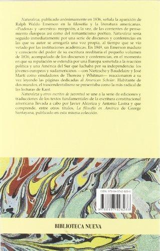 Naturaleza y otros escritos de juventud (CLASICOS DEL PENSAMIENTO)