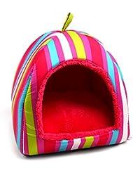 LEI ZE JUN UK- Lit de chien lit de sommeil Pet Babies Puppy Cave Bed Maison pour animaux de compagnie