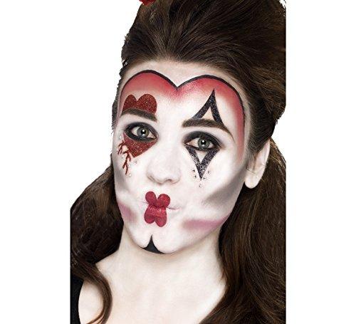 Smiffy's Kit de Maquillaje Reina de Corazones