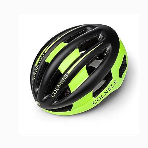 Lei HuanLeBao Multi-Color Optionale neue Fahrradhelm Professionelle hochwertige Sonnenschutz-Reithelm Fahrradzubehör , fluorescent black