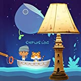 GBT Leuchtturm Geburtstagsgeschenk für Kinder Tischlampe ländlichen Schlafzimmer Nachttischlampe