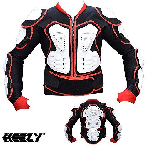 Protektorenjacke HEEZY® Protektoren Hemd Jacke Motocross Quad Ski Snowboard BMX - Größe L