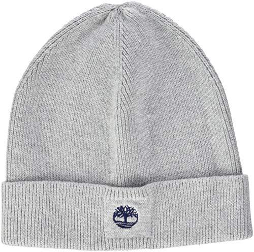 Timberland Jungen Bonnet Strickmütze, Grau (GRIS Chine), Hersteller Größen: 52 (Timberland Hat)