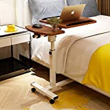 SUNLMG Ordinateur Portable réglable Stand Desk pour Ordinateur Portable Table de Plateau avec Carte de la Souris/Ordinateur Portable Bureau