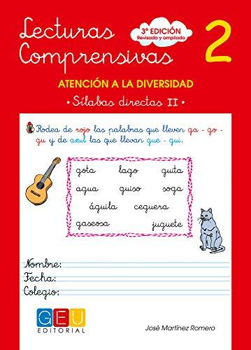 Lecturas comprensivas 2 - Sílabas Directas II por José Martínez Romero