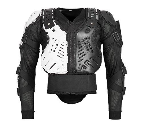 Bohmberg Body Protector Safty Jacket Protektoren Hemd Brustpanzer Motorrad Schutz Protektoren Motorradjacke Hemd Brustschutz Fallschutz Schutzjacke -XL
