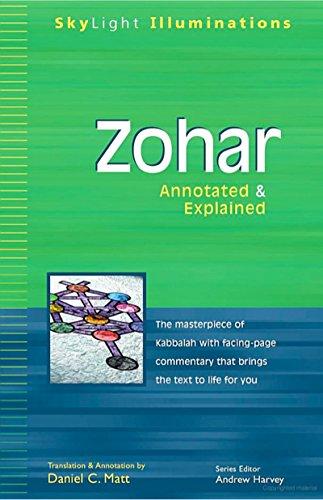 Zohar: Annotated & Explained (SkyLight Illuminations) (English Edition)