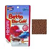 Hikari Betta Bio-Gold - Mangime completo granulare galleggiante, per tutti i tipi di betta (20 gr)