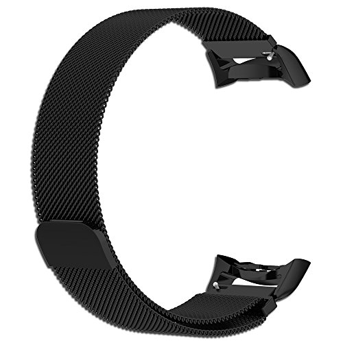 Cyeeson Samsung Gear Fit 2 SM-R360/Gear Fit 2 PRO Uhr Metel Replacement ArmbandHarte Edelstahl mit Magnetschnalle Band Farbe Adustable Mischfarbe Band Wristband Strap Watch Band für Samsung Gear Fit 2 SM-R360/Gear Fit 2 PRO Watch