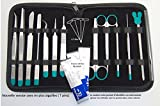 Trousse à dissection - 12 Instruments Pro en Inox - Universitaires & Etudiants