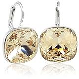 Ohrringe mit Kristallen von Swarovski® Silber Silk NOBEL SCHMUCK