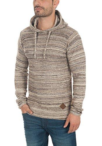 SOLID Macall Herren Kapuzenpullover aus 100% Baumwolle Meliert Dune (5409)