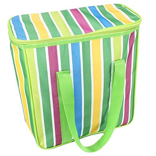 Picknick Kühltasche Kühlbox Thermotasche 17 L Isoliert grün