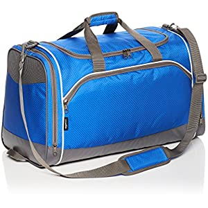 AmazonBasics – Bolsa de deporte, Mediano, Azul marino