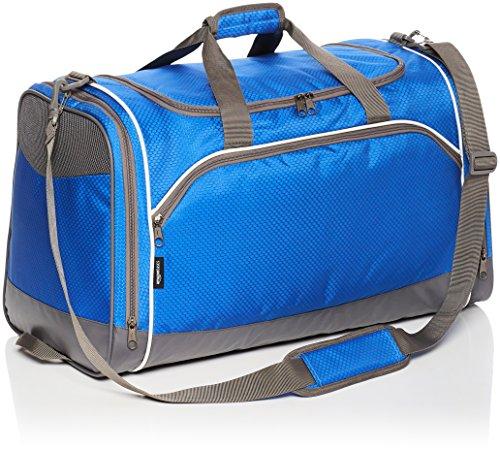 AmazonBasics - Bolsa de deporte, Mediano, Azul real