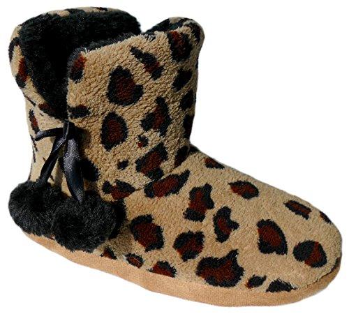 gibra, Pantofole donna Marrone