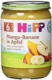 HiPP Früchte Mango-Banane in Apfel, 6er Pack (6 x 190 g)