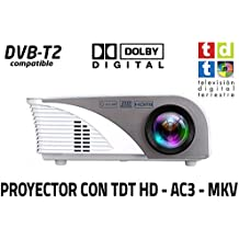 Unicview SG100 - Proyector (TDT, USB, HDMI, VGA, AC3)
