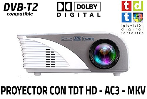 Unicview SG100 - Proyector (TDT, USB, HDMI, VGA, AC3)