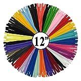KGS Reißverschluss | 30 cm | einzigartige Farbe | 20 Stück/Packung