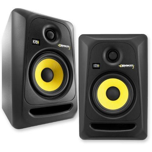 KRK-RP5G3-NA-Rokit-5-Generation-3-Powered-Studio-Monitor-Pair