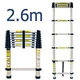 Abbey Ladders - Abbey Telescópica 2.6M Escalera Con El Bolso Gratuito