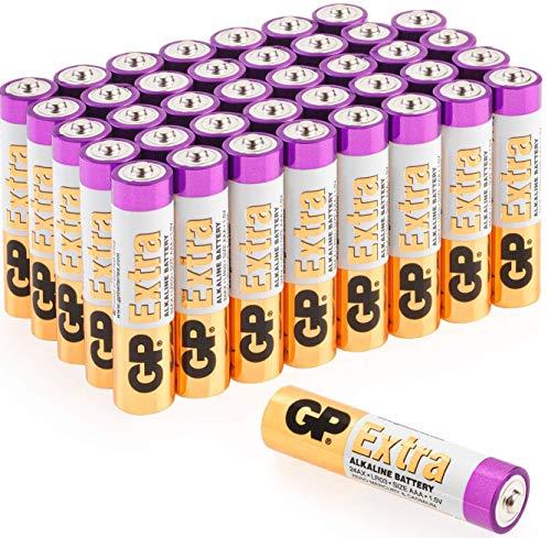 GP - Pack de 40 Pilas AAA Alcalinas | Capacidad y duración...