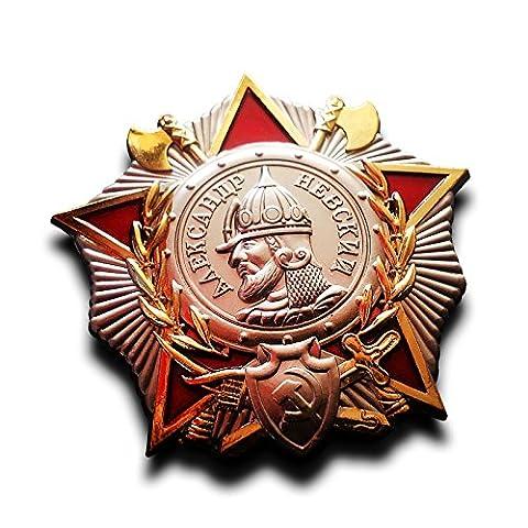 Der Alexander Newski Orden ist ein russischer Orden, der zunächst im kaiserlichen Russland und später erneut in der Sowjetunion verliehen wurde. 2010 wurde er in der Russischen Föderation erneut gestiftet. Sowjetischer Newskiorden Replik