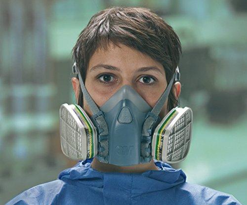 3M 950084Mezza Maschera di protezione serie 6000Dimensione media