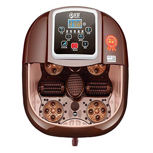 Idromassaggiatore Plantare Massaggio Acqua Piede Vasca Terme Massaggiatore Automatico Elettrico Intelligente Per Massaggio Bagno Completamente Riscaldamento