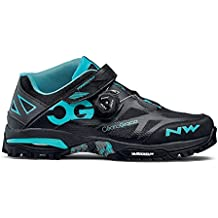 Northwave Enduro Mid MTB zapatillas de ciclismo negro/aqua, ...