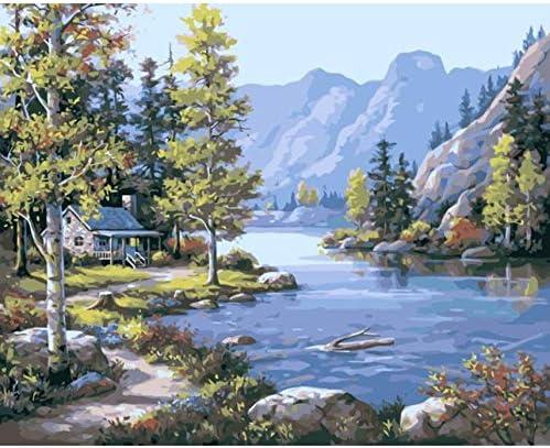 YKCKSD Puzzle Adulte 1000 Pièces Ruisseau Ruisseau Ruisseau d'eau De Montagne Paysage DIY Art Mural Moderne Cadeau Décor À La Maison | Doux Et Léger  01d5d1