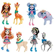 Enchantimals Muñeca con mascota Gillian Giraffe (Mattel ...