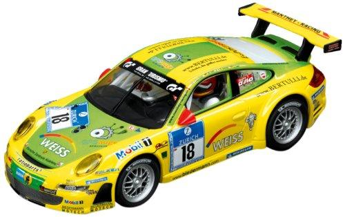 Carrera Evolution - 20027401 - Véhicule Miniature et Circuit - Porsche GT3 RSR Manthey Racing - 24H Nürburgring 2011 - No.18