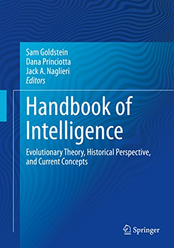 Handbook of Intelligence: Evolutionary Theory, Historical Perspective, and Current Concepts (English Edition)
