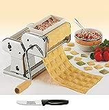 Küchenprofi Raviolini Aufsatz + Edelstahlstyling Universalmesser im Set