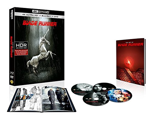 BLADE RUNNER – EDITION COLLECTOR 35EME ANNIVERSAIRE -BLURAY + BLURAY4K ULTRA HD [4K Ultra HD + Blu-ray + DVD - 35ème anniversaire]