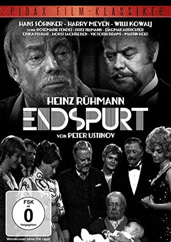 Endspurt / Herausragender Film mit Heinz Rühmann, Hans Söhnker, Martin Held nach einem Buch von Peter Ustinov (Pidax Film-Klassiker)