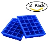 Best Ice Cube Trays With Covers - Silicone Ice Cube Tray, Zonyanl Square Soft Washable Review