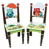 Fantasy Fields TD-11740A Enchanted Woodland - 2er Set Kinderstühle