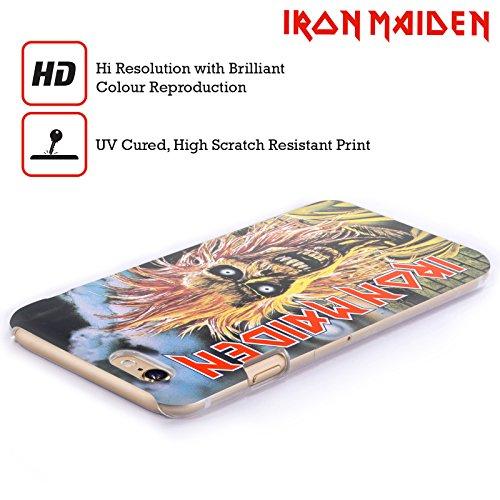 Ufficiale Iron Maiden Best Of Beast Arte Cover Retro Rigida per Apple iPhone 6 / 6s First