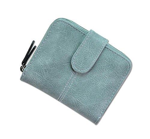 Ylen Damen Zweifach Geldbörse Klein Brieftasche Kurze Portemonnaie mit Münze Tasche Karte Halter Card Holder Wallet Lv