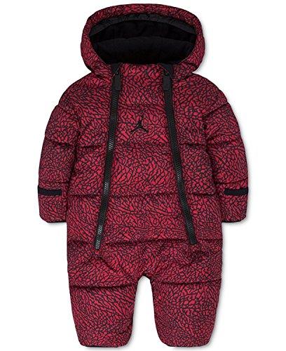 Jordan bébé garçon ou bébé fille à capuche Abstract-print Snowsuit fanions