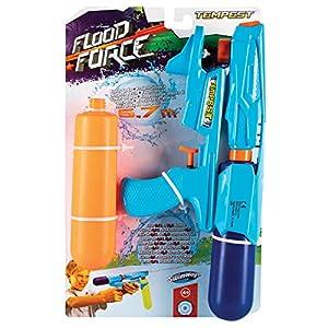 Swimways 6043766-Pistola de Agua Flood Force Tempest