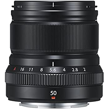 Fuji XF-50mm f/2.0 R WR Mid-Telephoto Lens - Black