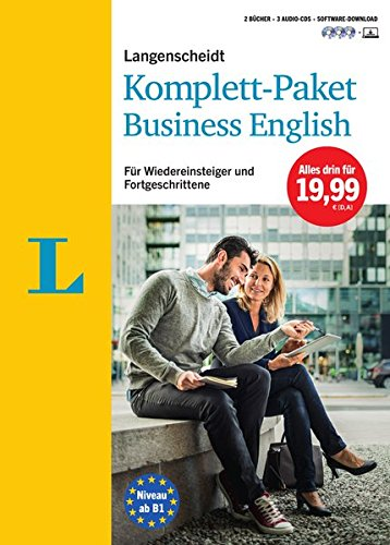 Langenscheidt Komplett-Paket Business English - Sprachkurs mit 2 Büchern, 3 Audio-CDs und Software-Download: Sprachkurs für Wiedereinsteiger und Fortgeschrittene